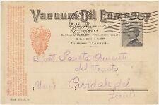 GENOVA - VACUUM OIL COMPANY 1927