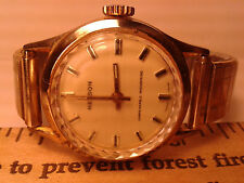 VINTAGE MENS  NELSON  SWISS MADE MECHANICAL WATCH NEEDS WORK
