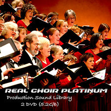 CHOIR REAL PLATINUM - HUGE UNIQUE SOUND & PRODUCTION LIBRARY on 2DVD (5.2GB)