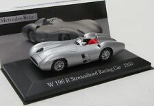 Mercedes Benz w196 R streamlined (1955) plateado met./Ixo 1:43