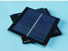 Solar Panel 5.5V 90mA 0.6W Mini Small Solar Cell PV Solar Power PCB Panels LED
