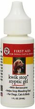 RICH HEALTH KWIK STOP GEL 1 OZ DOG CAT BIRD FERRET RABBIT BLOOD NAIL FREE SHIP