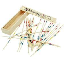 Funny Pick Up Sticks Interesting Traditional Game Pickup Stick Toy Wooden Box LA
