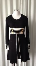 "Vintage 90's ""Volga Lotus Robe"" Nautical Dress Made in France"