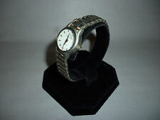 Ladies Calvin Hill SilverTone Analog Quartz Designer CH Link Band