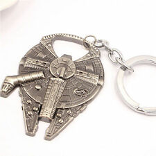 Star Wars Millennium Falcon Metal Alloy Bottle Opener & Keychain Creative Silver