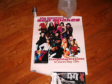 OOP rare PROMO POSTER 24x18aprx. the IMPOTENT SEA SNAKES band music