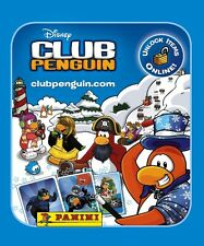 CLUB PENGUIN STICKERS X 5 PACKETS ~ PANINI ~ ALBUM STICKERS