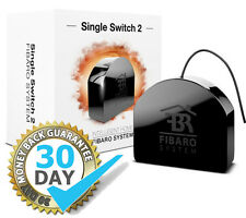Fibaro Relay Singolo Interruttore 2 1 * 2.5 KW fgs213 Z-Wave PLUS GEN 5