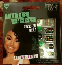 Elegant Touch Little Mix False Nails - Leigh Annie Decorated Press on 24 Nails