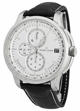 Maurice Lacroix Pontos Automatic Chronograph Leather Mens Watch PT6128-SS001-130
