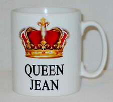 Queen (Any Name) Mug PERSONALISED Great Gift Mum Nan Gran Parent Sister Tea Cup