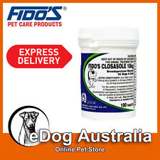 Fidos Closasole Broad Spectrum 10Kg Wormer 100 Tablets Pack For Cats & Dogs