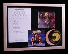 SPINAL TAP Bitch School CD TOP QUALITY MUSIC FRAMED DISPLAY+EXPRESS GLOBAL SHIP