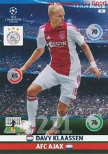 031 DAVY KLAASSEN AFC.AJAX  CARD CHAMPIONS LEAGUE ADRENALYN 2015 PANINI
