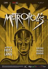 Metropolis - Fritz Lang (edizione restaurata 2015) Poster 70x100