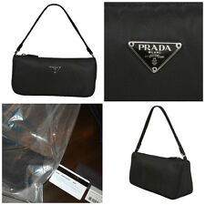 Authentic & Brand New PRADA BAG IN BLACK W/ AUTHENTICITY CARDS & Prada Sac