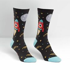 Cat Lover! This Cat is a Space Catdet on Women's Crew Socks by Sock It To Me