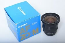 COSINA 19-35MM ZOOM 3.5-4.5 MC. FOR MINOLTA AF SONY ALPHA. MINT.