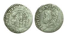 pci0513) Regno di NAPOLI Filippo II PR. (1598 - 1621) Tarì colletto aperto