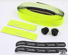 Deda Elementi Mistral Road Bike Handlebar Bar Tape Soft Touch FLUORESCENT YELLOW