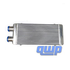"New Front Mount Full Aluminum Polished  Turbo Intercooler  31.5""X13""X3"""