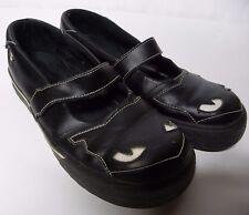 Emily Strange Black Cat Mary Janes Shoes Size 10 Hot Topic