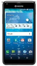 "New Kyocera Hydro View C6742 Cricket Unlocked Waterproof GSM 5""qHD 8Gb Android"