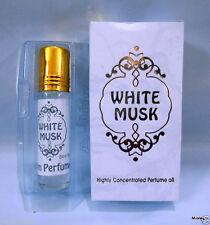Aalim Perfume  White Musk 8ml Non Alcohol Roll On Attar Oil Jumma Mubarak Ramzan