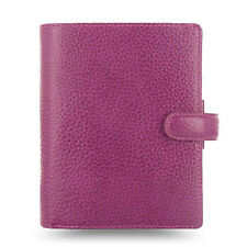 Filofax Pocket Size Finsbury Organiser Diary Raspberry Leather - 025342