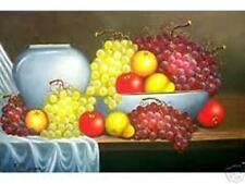 Lady Fruit Vendor 24x36 by Pelayo Art  Oil Painting Philippines