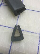"1/4"" Rubber Edge Trim HR71J SOLD BY THE FOOT in Black U Channel EPDM"