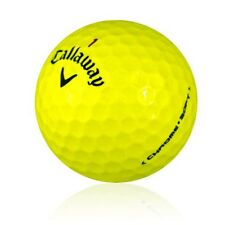 120 Callaway Chrome Soft Yellow Mint Used Golf Balls AAAAA