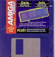 Amiga format-magazine coverdisk 76a-data info nexus