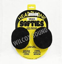 GARFIELD HEADPHONE SOFTIES HEADPHONE EARPAD COVERS FOR EXTENDED WEAR BLK SMALL