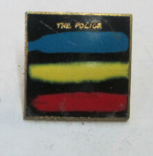 THE POLICE VINTAGE METAL LAPEL PIN NEW FROM LATE 80'S HEAVY METAL WOW