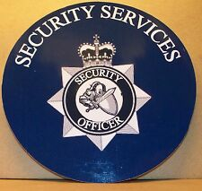 Police/Security Services vinyl sticker.