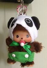 "5"" Monchhichi Doll Key Chain Purse Charm Cell Phone Chain Car Mirror Pendant"