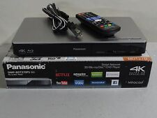 Panasonic 3D Blu-ray 4K Upscaling Player with WiFi Netflix Apps DVD DMP-BDT270