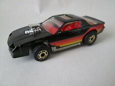 1983 Hot Wheels Black Chevrolet Blown Camaro Z-28 car Sunroof 1:64 MALAY (Minty)