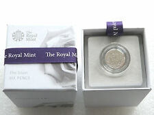 2016 Queen Elizabeth II 6D Sixpence Silver Coin Box Coa - First Time In 70 Years