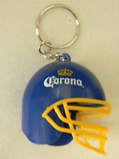 CORONA beer/Cerveza Mini Football helmet- bottle opener/keychain- NWOT