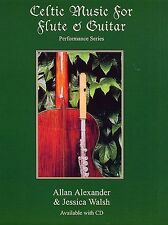 Celtic Music For Flute And Guitar Learn to Play Flute Guitar Music Book & CD