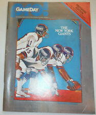 Pro! Gameday Magazine The New York Giants September 13, 1981 122214R