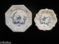 Vide Poche & Cendrier Faïence LALLIER à Moustiers Céramique Porcelaine assiette