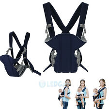 Baby Carrier sling wrap Rider Infant Comfort backpack Blue for 2-18 months