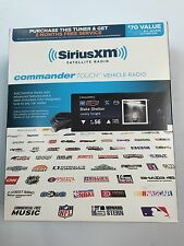 SiriusXM Commander Touch SXV-CT1 SATELLITE RADIO TUNER GREAT DEAL FREE SHIP