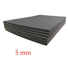6 Sheets Car Sound Proofing Deadening Insulation 5mm Closed Cell Foam 30X50cm
