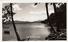 Carte Photo LAC BROME Montérégie Quebec Canada 1940-50 Photo Légaré RPPC