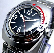 RUSSIAN MILITARY NEW VOSTOK AUTO AMPHIBIAN # 090913 WATCHEW
